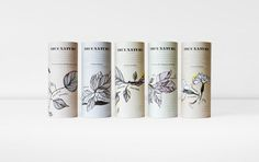 ❦ True Nature blends packaging www.pepijnrooijens.com #identity #packaging