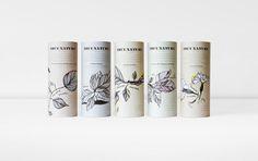 ❦ True Nature blends packaging www.pepijnrooijens.com #packaging #identity