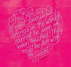 typography heart