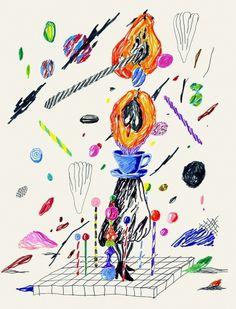 Mousse magazine - Merijn Hos #drawing