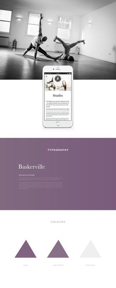 Freestyle Yoga Project website design, by Redspa http://redspa.uk