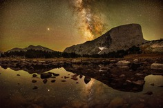 Reflections of Mount Hooker by Marc Toso, USA