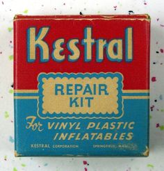 All sizes | Vintage repair kit package 1950s? | Flickr - Photo Sharing!