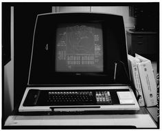 Yes Machine #computer #white #of #display #black #screen #satelite #and #library #congress #loc