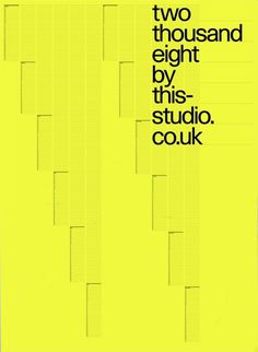mg 0701 poster: by This Studio #green #yellow #poster #typo #neon