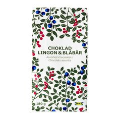IKEA chocolate with berries #packaging #chocolate