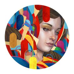 Abstract Illustrations by Erik Jones #arts #illustrations #inspirations