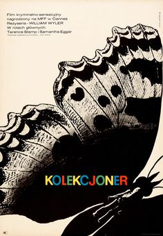 """1965 """"The Collector"""" #polish #design #poster"""