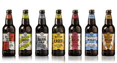 Tescos Revisionist Bottles #packaging #beer #type
