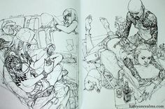 ink drawings #sketching #jung #kim #tattoo #gi