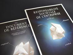 Grow, Blossom, Widen - Altran - Rapport RSE 2012 #design #graphic #altran #direction #art #editorial