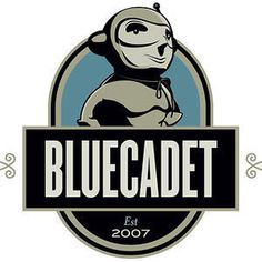 Bluecadet #logo #illustration #character