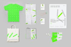 Freja Hedvall Designing a Modern Heritage #invitation #fluorescent #design #graphic #exhibition #identity #poster #stationery #typography