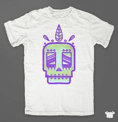 Newskull : Color Beast #apparel #design #shirt #tee #skull