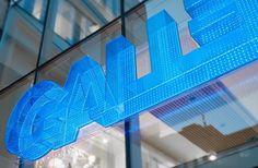 BVD — Gallerian #bvd #retail #signage #logo #helvetica #gallerian #typography