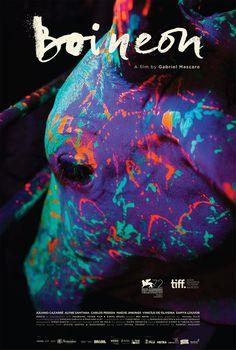 'Neon Bull' Poster