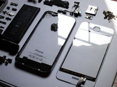 iPhone 4 transparent | Geek&Hype #iphone #apple