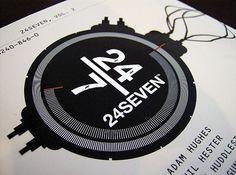 2007_24SEVEN-backcover.jpg 560×417 pixels #four #print #design #twenty #seven #type #typography