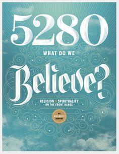 5280 Magazine on Typography Served