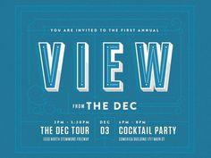 DEC Invitation #invitation