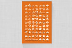 Dutch crown poster, netherland #crown #netherland #design #poster #dutch