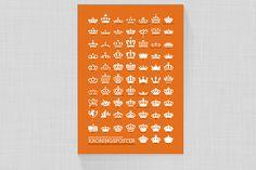 Dutch crown poster, netherland