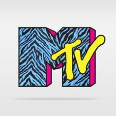 Zebra print or other print duct tape, make the M Huge and 3D, and the TV is made of cardboard, stuck to the M for even more 3D effect. Spray