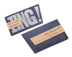 Zing! Business Card