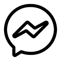 See more icon inspiration related to facebook, chat, brands and logotypes, messenger, communications, logos, logotype, message, logo, social network, social media and interface on Flaticon.