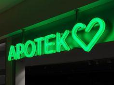 BVD: Apotek Hjärtat — Collate #bvd #pharmacy #branding #swedish
