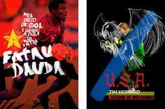 World Cup #world cup #goal keeper #goal #football #futebol #soccer #usa #gana #brasil #brazil #poster