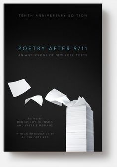 Christopher Brian King. Poetry After 9/11. #ryan #book #anderson #cover #eric #poetry #911