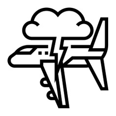 See more icon inspiration related to transportation, airplane, bolt, storm, plane, lightning, weather, cloud, nature, travel and transport on Flaticon.