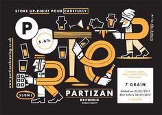 Partizan Brewing Labels