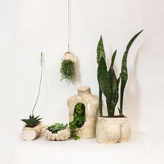 https://www.behance.net/gallery/16113197/Underground #flowerpot #ceramics #body #planter