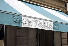 Trattoria Montanari by Twenty-Five Art House #logotype #typography #tent