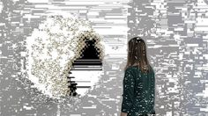 interactive PomPom Mirror