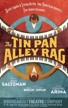 THE TIN PAN ALLEY RAG #poster #theatre