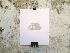 Jeep - 8 x 10 Mini Poster