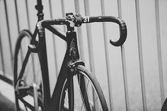 Bombtrack 2015 Fixed Gear bike #blackwhite #bicycle #photo #fixedgear #track #bike #trackbike #velo
