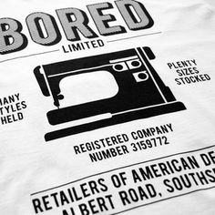 FFFFOUND! | Tees - Bored of Southsea - Retailers of t-shirt - White #bored #jubru #southsea