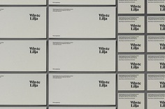 Logo and stationery designed by Kurppa Hosk for Swedish architectural firm Whyte Lilja