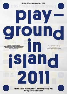 Play Ground in island 2011 #poster