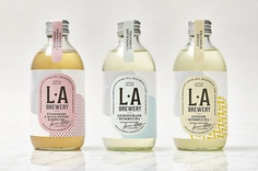 L.A. Brewery packaging | Communication Arts