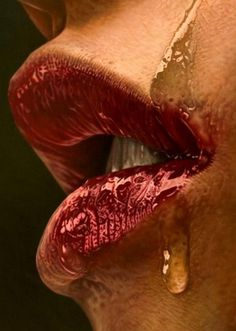 SerialThriller™ #lips #photography #colour