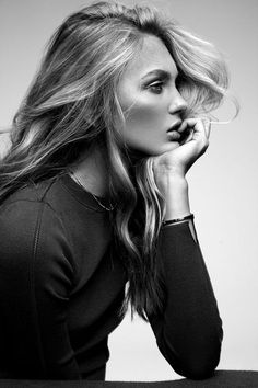 Romee Strijd photographed by Migjen Rama