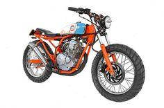 IMG_3693 | Flickr - Photo Sharing! #scorpio #motorbike #flug #255cc #machina #ex #deus #yamaha