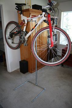Stand with bike.JPG #diy