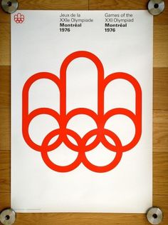 All sizes | 1976 Montreal Olympics Poster | Flickr - Photo Sharing!