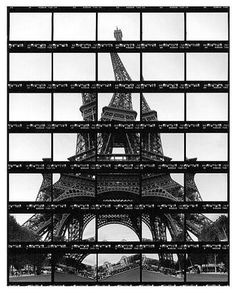 Thomas Kellner #photo #collage #paris #warped